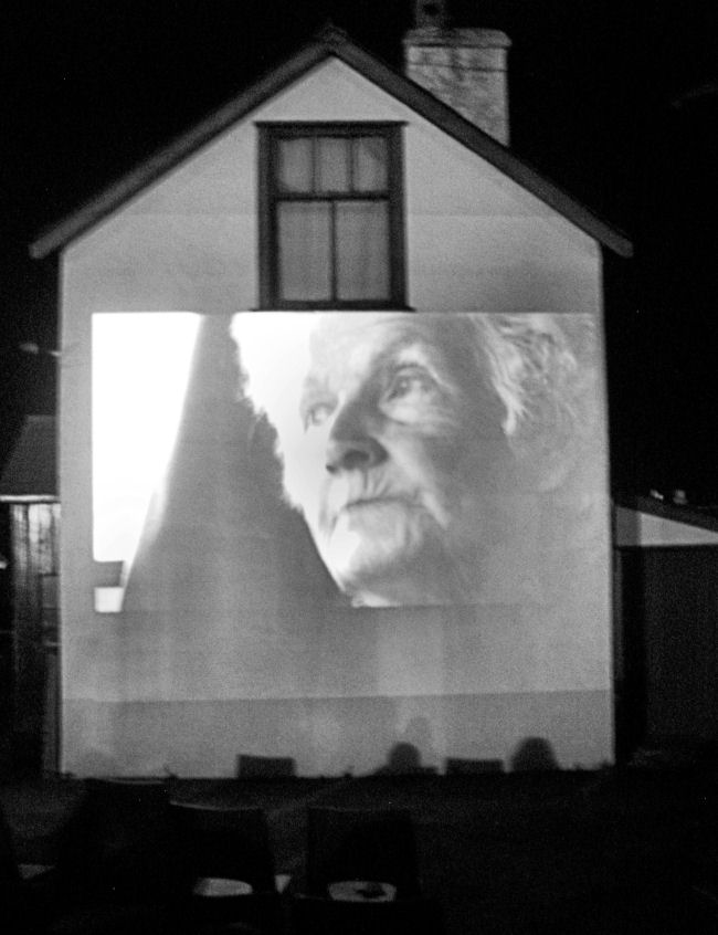 Projection on Ferro Cottage