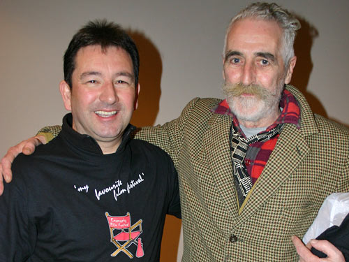 Dave and John at the Cromarty Film Festival