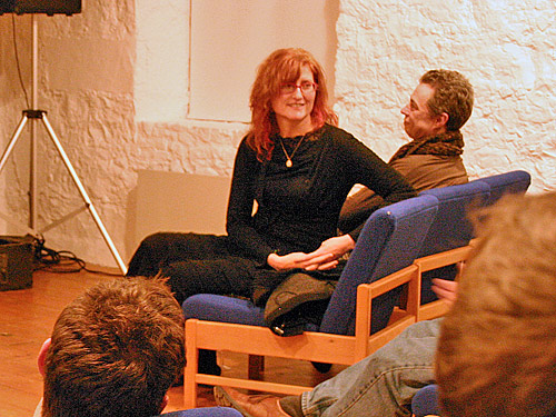 Eddi Reader at the stables
