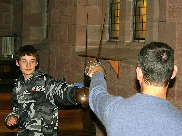 Connor taking on Joel