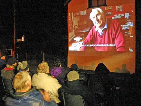The audience at the Northern Exposure film event