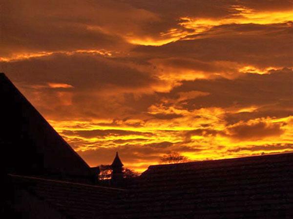 November Morning Sky