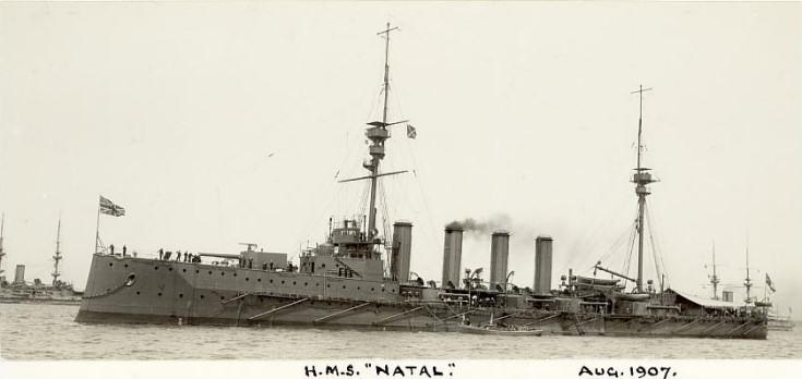 HMS Natal - August 1907