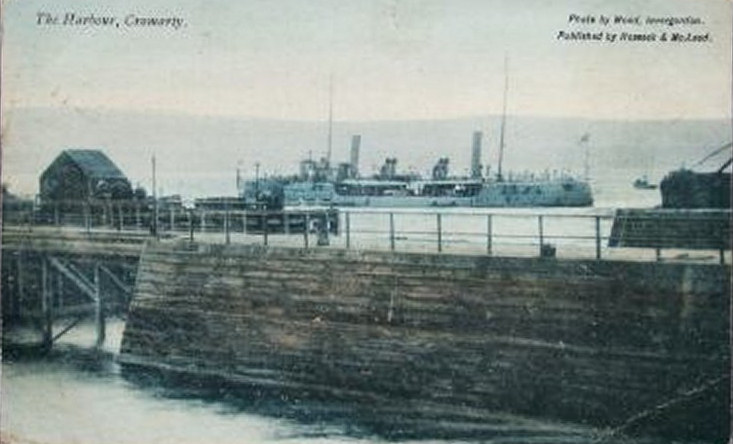 The Harbour from in front of the Royal - c1909