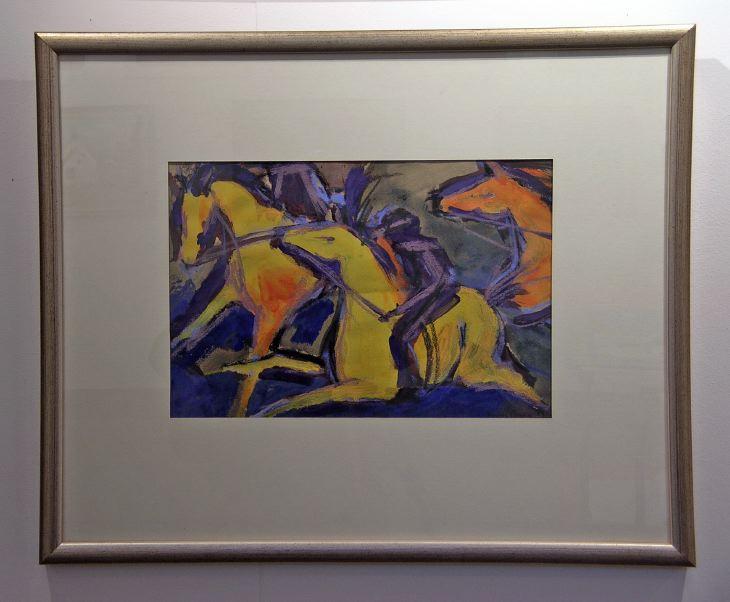 Racing Horses by Jenny Gunn