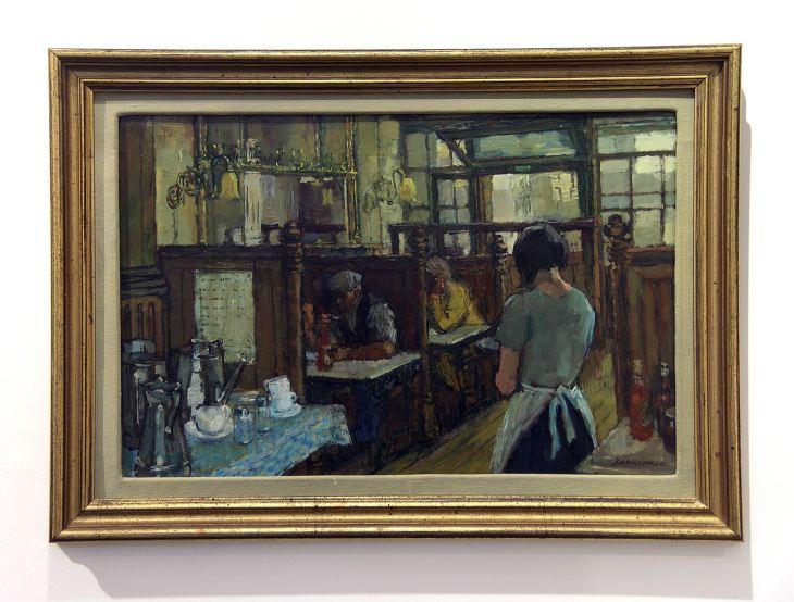 Café by Charles Bannerman