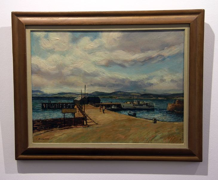 Cromarty Harbour by Charles Bannerman