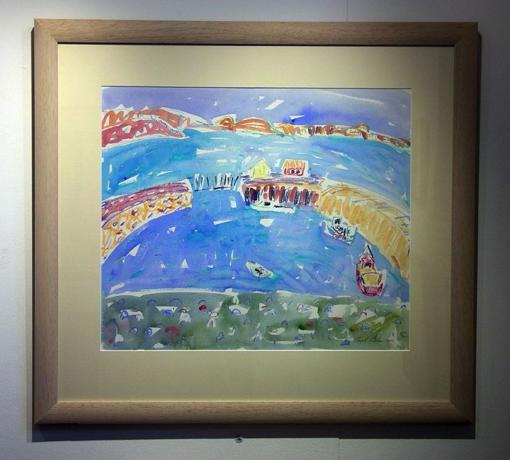 Cromarty Harbour by Mary MacLean