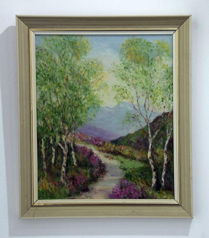 Country Lane by Jessie MacKenzie
