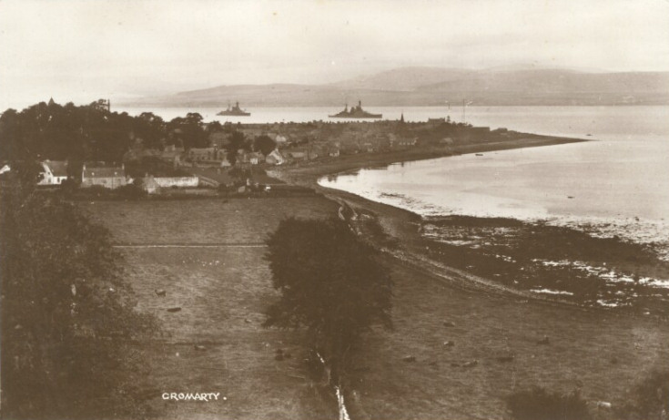 Cromarty from the Sutor - c1910