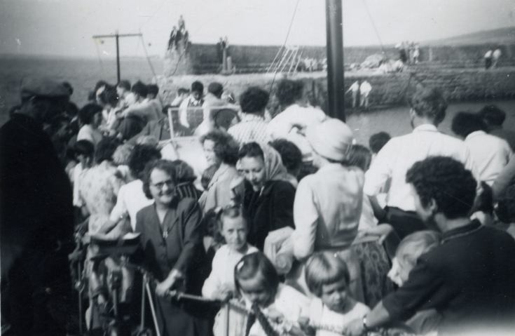 Lifeboat trip - c1959