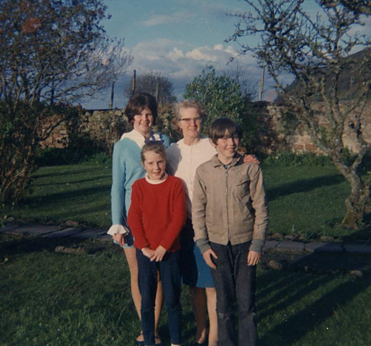 Margaret Bain and family - 1969