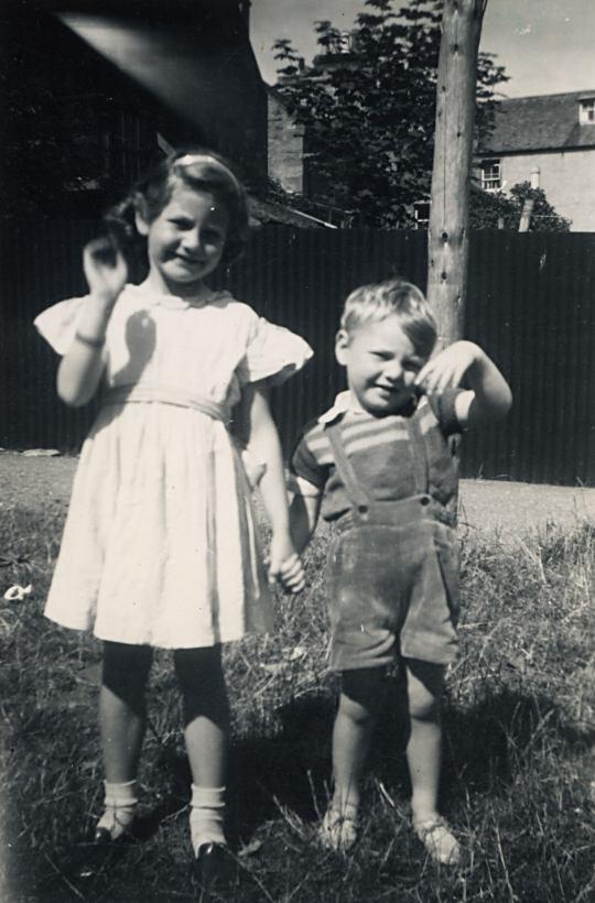 Caroline and Jackie Bain