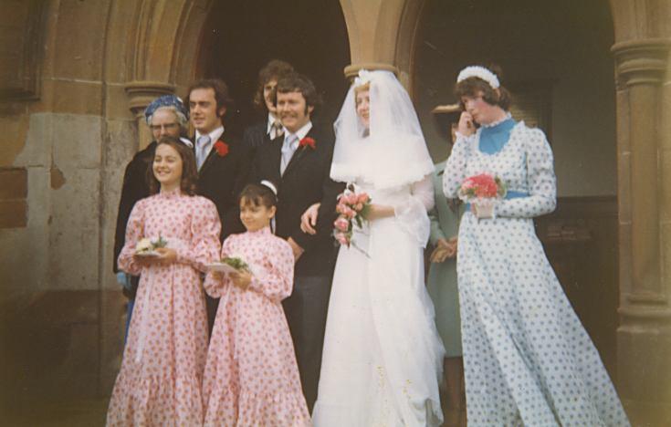 Wedding of Ronnie Winton and Cynthia Bain