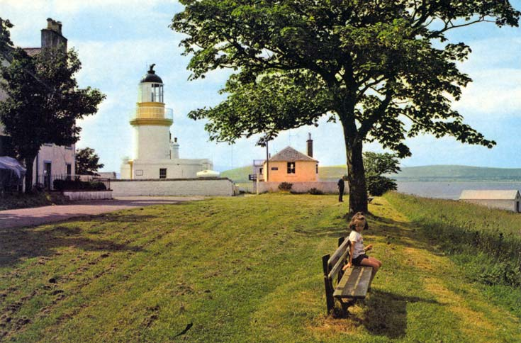 Cromarty, The Lighthouse - Postcard