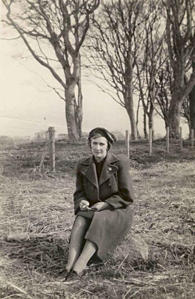 Ethel Lewis c1945...