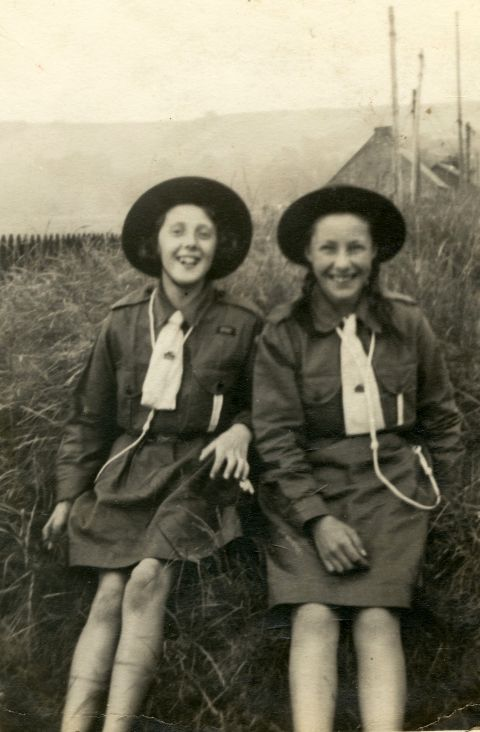 Kathleen Lewis and Primrose Macdonald
