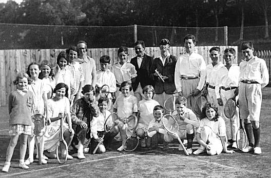 Cromarty Tennis Club c1930?