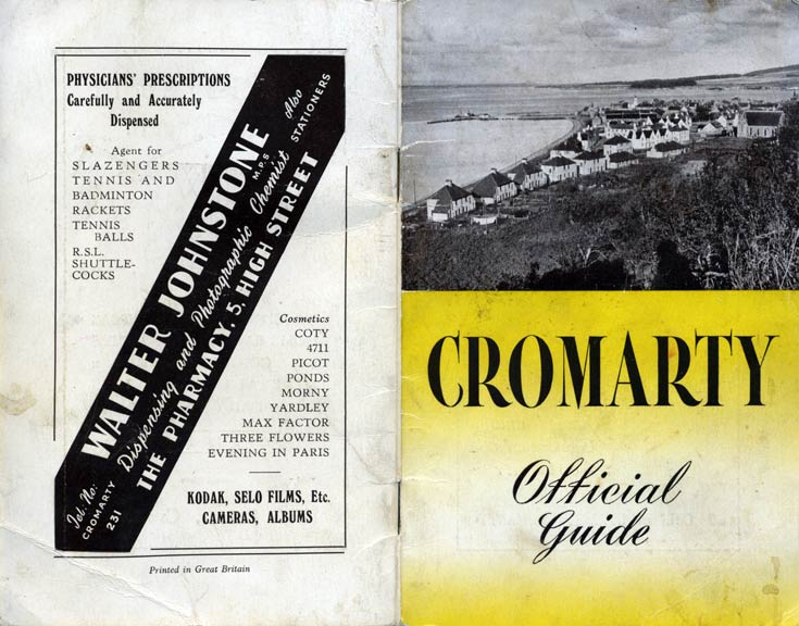 Cromarty Official Guide - Cover