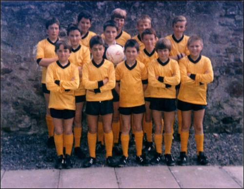 Boys Football Team - c1980