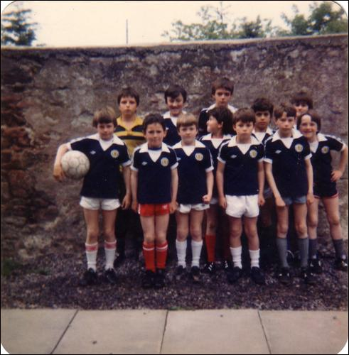 Boys Football Team - c1975