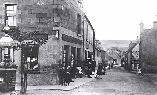 Church St from Forsyth Place - c1910