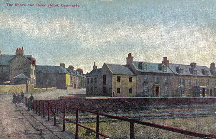 The Shore and Royal Hotel Cromarty