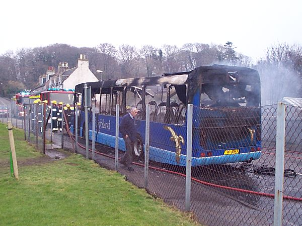 Burnt out Bus - 2003