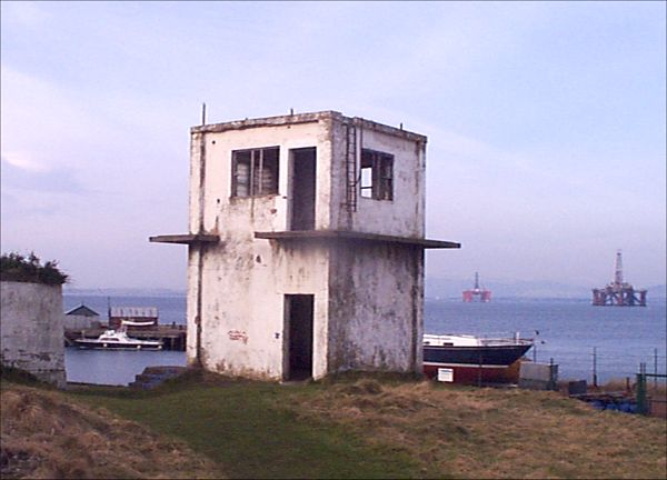 Lookout tower just before rebuilding - 2003