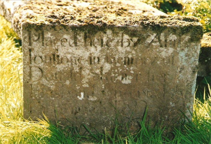 Gravestone of Donald Skinner