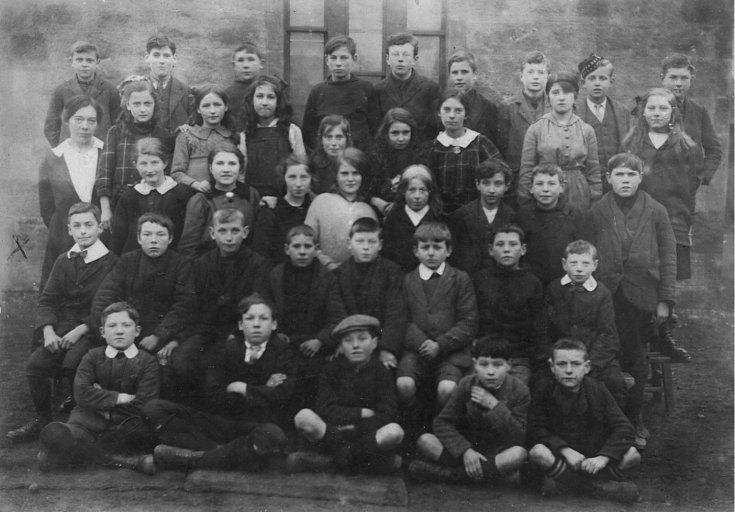 School Photograph - 1918