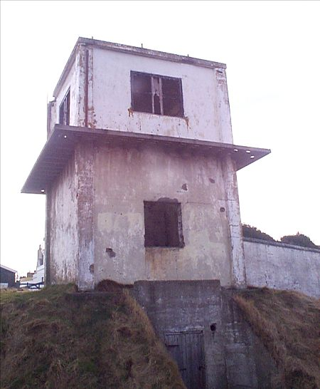Lookout tower before rebuilding - 2003