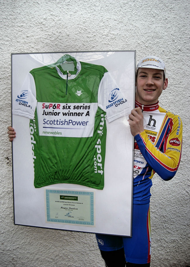 Magnus Davidson - Super Six Champion 2008