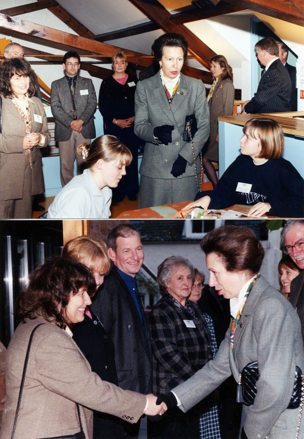 Princess Anne at the CAYP Centre - 1999