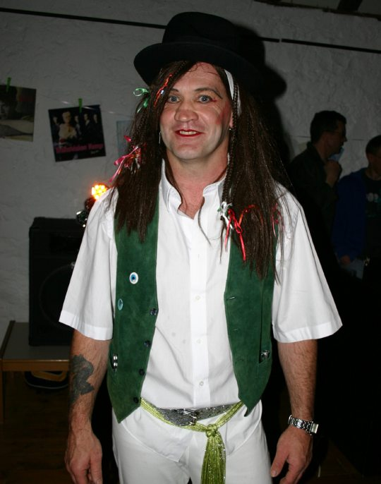 Bob Cherry as Boy George - 2007
