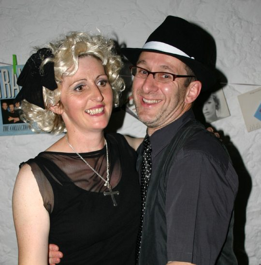 Helen & Andy Webster at Helen's 40th in 2007