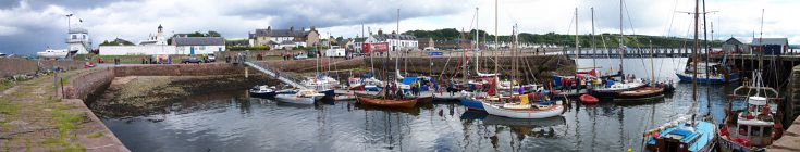 Harbour Panorama during vintage sail - June 2008
