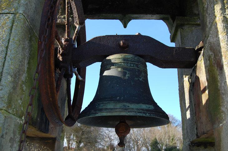 Cromarty E Church bell