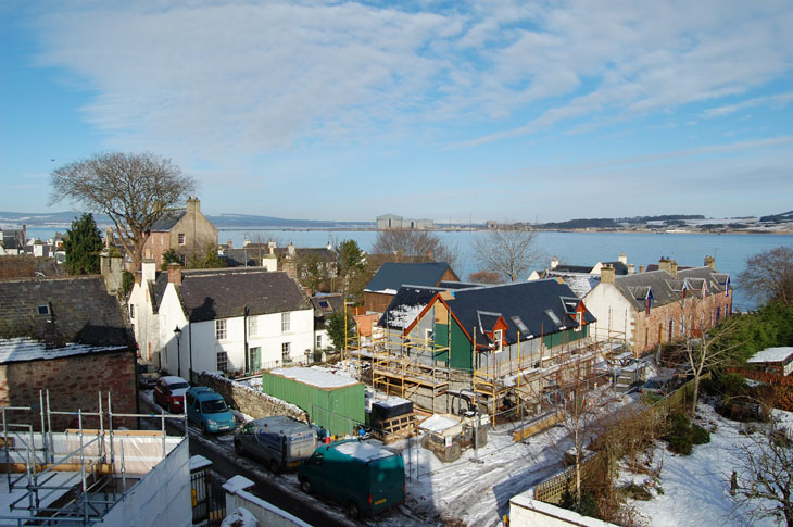 Across the roofs from the top of the East Church-4