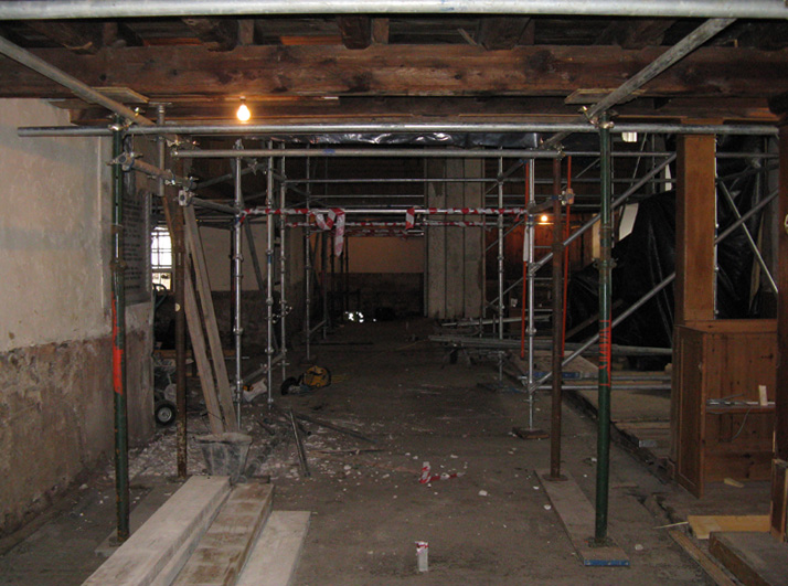Inside the East Church 11 March 2009