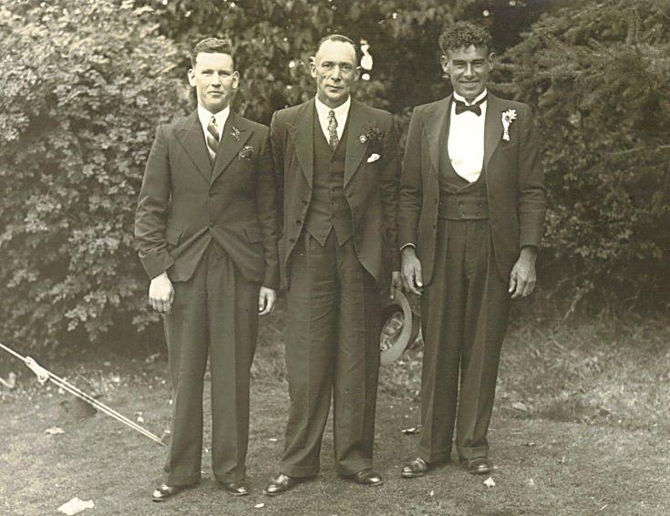 Jack Mackay, Dan Macfarlane & George Finlayson