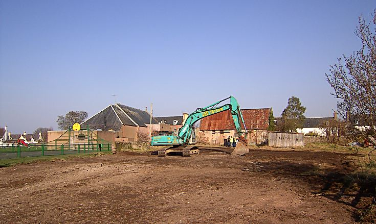 Dairy Buildings Demolished - 2009