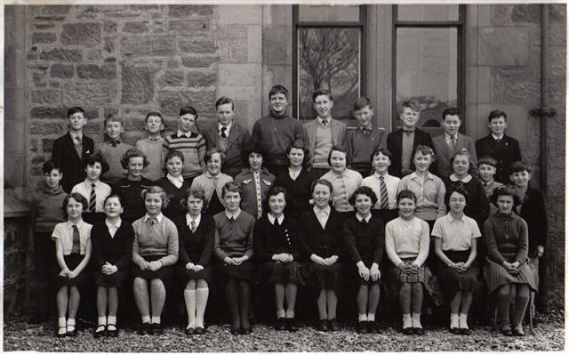 1st year, Fortrose Academy - c1960