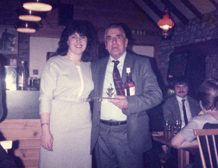 John Gilles and Louise Ratcliffe - c1985