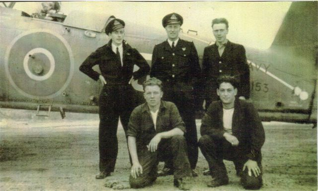 Barracuda Crew - 817 Squadron - Fearn