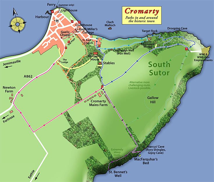 Cromarty Paths Network - your right to roam