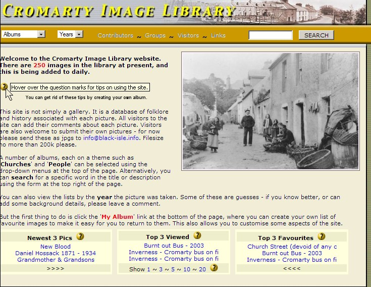 Cromarty Image Library Version 1