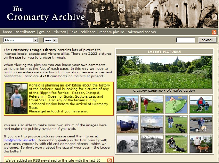 Cromarty Image Library Version 2