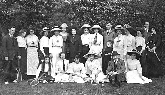 Tennis Group - c1910