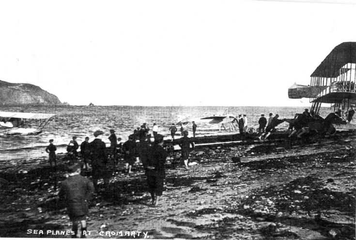 Sea Planes by the Links - 1913